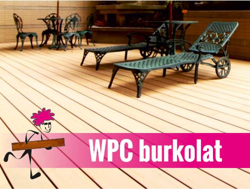WPC burkolat